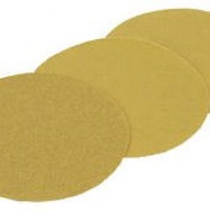 "3M 6"" 236U Hookit Gold ""C"" Weight Sandpaper Discs"