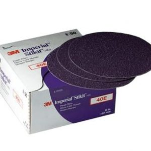 "3M 6"" 740I Stikit Imperial ""E"" Weight Sandpaper Discs"
