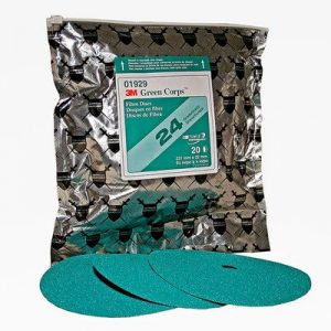 3M-7-Green-Corps-24-Grit-Grinding-Discs-PN-01923-1