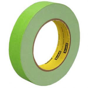 3M Scotchmark Green Masking Tape 256