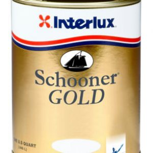 Interlux Schooner Gold Varnish Quart PN# YVA500-4