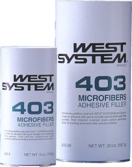 West System 403 Microfibers Adhesive Filler