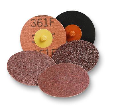 "3M 3"" 361F Roloc Cloth Grinding Discs"