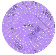 "3M 6"" 360L Imperial Hookit Clean Sanding Discs"