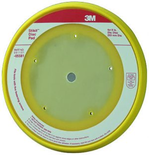 "3M 8"" Stikit Backup Pad for Chicago and National Detroit 900 Sanders PN# 05581"