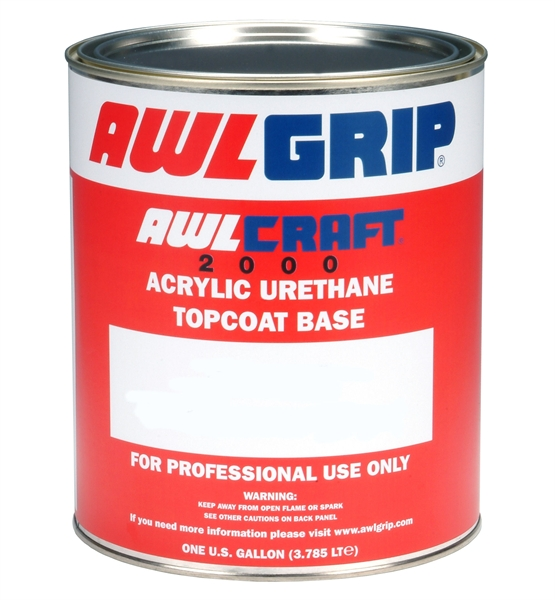 Awlgrip Awlcraft 2000 Acrylic Urethane Topcoat F3029 High Gloss Clear Base Merritt Supply
