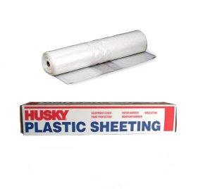 Husky Visqueen Plastic Sheeting Film