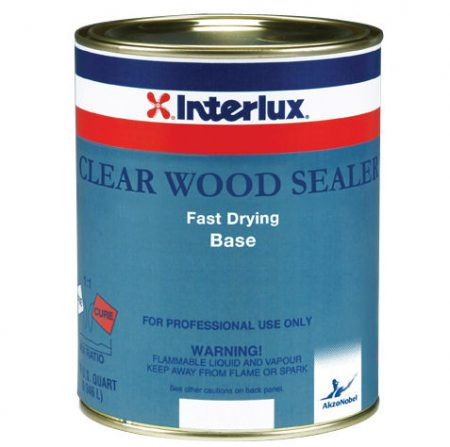 Interlux Clear Wood Sealer Base Quart PN# YVA327-04