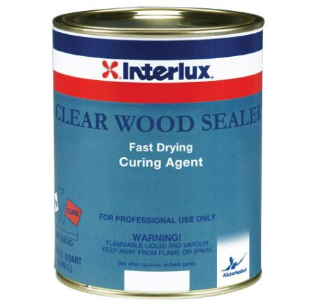 Interlux Clear Wood Sealer Curing Agent Quart PN# YVA328-04