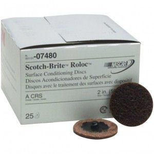 "Scotch-Brite 2"" Roloc Surface Conditioning Discs"