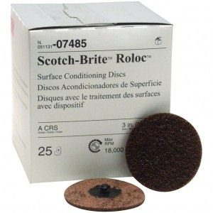 "Scotch-Brite 3"" Roloc Surface Conditioning Discs"