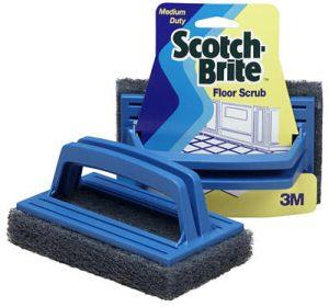 Scotch-Brite Blue Floor Scrubber PN# 01009