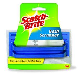 Scotch-Brite White Bath Scrubber PN# 01010
