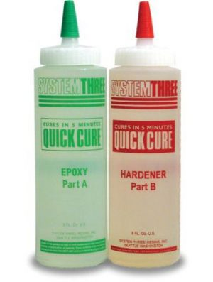 System Three Quick Cure 5 Minute Epoxy Adhesive