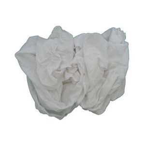White Knit T-Shirt Rags
