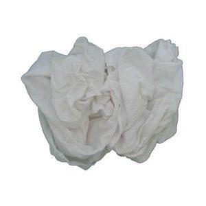 White Knit T-Shirt Rags