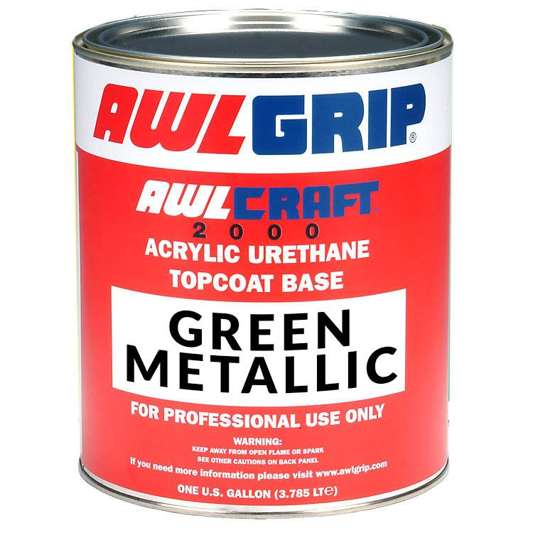 Awlcraft 2000 Acrylic Urethane Metallic Topcoat Base Greens Merritt Supply Wholesale Marine