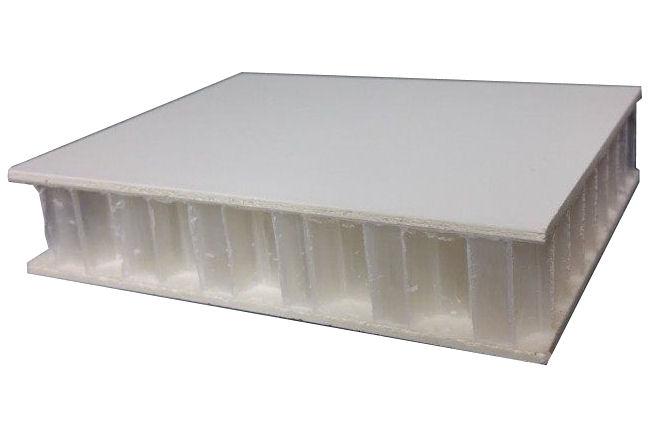 Nida core structural honeycomb fiberglass laminated panel