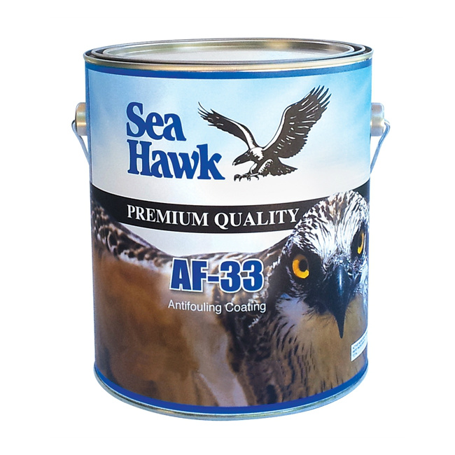 Sea hawk af 33 ablative antifouling paint merritt supply for Seahawk boat paint