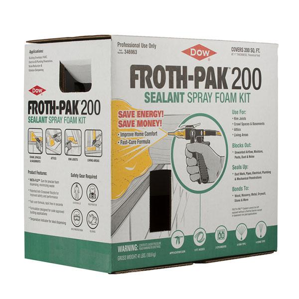Dow FROTH-PAK 200 Foam Insulation Kit